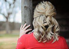 Simple hair do!