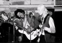 Johnny Winter with Jimi on the bass.