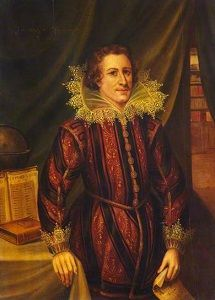 William Drummond (13 december 1585 - 4 december 1649) - Portret in de universiteit van Edinburgh