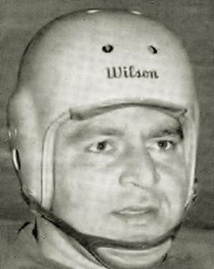 Vince Mazza - Hamilton Tiger-Cats (1953) all-star Canadian football player who played offensive and defensive line. Mazza went directly to the pros from Trott Vocational High School in Niagara, NY. He played for the NFL Detroit Lions in 1945-1946, then for the up-start All-America Football Conference (AAFC) in 1947 with the Buffalo Bills. He played 3 years there. He was recruited by Hamilton of the Interprovincial Rugby Football Union, and played five seasons there (1950 to 1954). Football Icon, Football Players, Grey Cup, Canadian Football, Nfl Detroit Lions, Football Conference, Vintage Football, Buffalo Bills, 3 Years