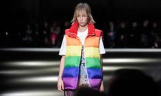 Before her London Fashion Week menswear show, the designer explains why she wants her vibrant clothes to be ethical Fashion Cover, Big Fashion, Fashion Editor, Fashion News, Christopher Bailey, The Blonde Salad, Bailey Bow, Body Warmer, Fashion Articles