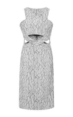 Caviar Cutout Dress by Jonathan Simkhai for Preorder on Moda Operandi