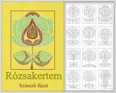 Régi magyar motívumaink...great design and pattern...so many detailed designs here!