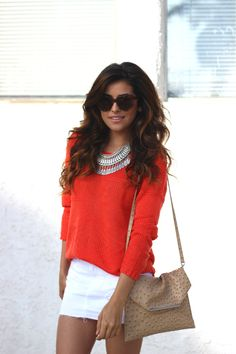 sazan, barzani, outfit, ideas, affordable finds, g by guess, guess, denim skirt, white skirt, trends, spring fashion, 2014 trends, street st...