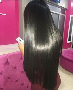 Inspiration to leave my Asian hair the hell alone! Long hair