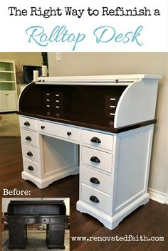 Equll Home Decor. Top Tips On Furniture For Your Home. You aren't the first person to need furniture. Anyone that has a home needs furniture. Diy Furniture Projects, Repurposed Furniture, Furniture Making, Painted Furniture, Home Furniture, Furniture Refinishing, Office Furniture, Painted Desks, Furniture Design