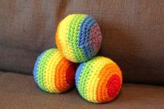 crochet juggling balls free pattern
