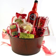 """Send a Beer My Valentine Gift Basket from Made In Oregon! Enter the """"Sending all my love"""" Pinterest contest for a chance to win!"""