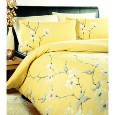 Chi Chi Lemon Printed Yellow Bedding
