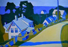 Road to Annisquam by Debra Bretton Robinson