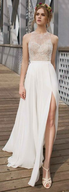 New Arrival 2015 Beach Rockabilly Wedding Dresses Summer Bohemian Women White Reception Dresses Vestido de Noiva Bridal Dresses, Wedding Gowns, Prom Dresses, Formal Dresses, Lace Wedding, Reception Dresses, Wedding Bride, Elegant Dresses, Cute Dresses