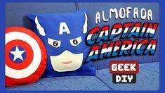 Almofada Capitão América | DiY Geek