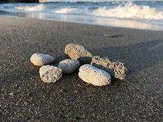 Natural Pumice Stones (6pcs) from Greek beaches, genuine Pumice Stones, Volcanic stone, Light-weight beach stones Pumice, Beach Stones, Beach Crafts, Beaches, Greek, Natural, Etsy, Sands, The Beach