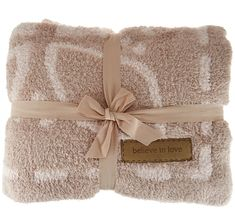 Barefoot Dreams Cozychic Covered in Prayer Throw Blanket — QVC.com