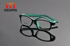 6892ce3f76 DeDing Unbreakable Teens 360 Twist Silicone Rectangle Glasses Size 49