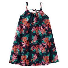 Just One You™Made by Carter's® Toddler Girls' Navy Floral Print Dress