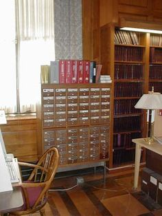 Card Catalog at the New York Courts Law Library of Queens (http://www.nycourts.gov/library/queens/) -- I like that floor, too!