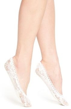 Nordstrom Cushioned Lace Liner Socks (3 for $15) available at #Nordstrom