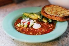 """I've had a love affair with Gazpacho since I saw the movie """"Violets are Blue"""" with Kevin Kline and Sissy Spacek in 1986. Please tell me you've seen it. Okay, Kevin Kline (po…"""
