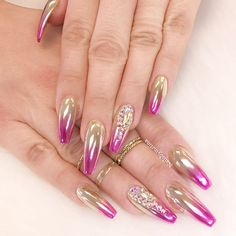 Ombre Nail Art Designs, Nail Art isn't simply your typical nail job. Nail art is associate degree exclusive niche that's gaining quality in late times. Ombre Nail Colors, Purple Nail Art, Pink Ombre Nails, Nail Art Designs, Ombre Nail Designs, Umbre Nails, Nail Color Combinations, Spring Nail Trends, Latest Nail Art