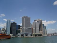 Ferry view of NY