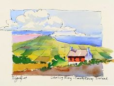 Travel Journal | Larry Fentz Studio – Orginal Watercolors
