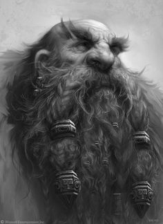 ArtStation - The Art of Warcraft Film - Dwarves, Wei Wang