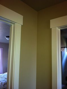 Interior Trim: stained NOT WHITE!