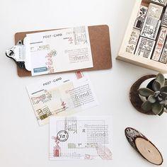 PC ✄ @pooi_chin Stamping spree in...Instagram photo   Websta (Webstagram)