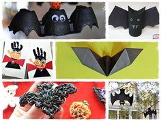 Bricolage Halloween chauve-souris
