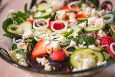 Endless Summer Strawberry Salad - The Pure Dish