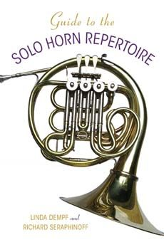 """""""This comprehensive, annotated resource of solo repertoire for the horn documents in detail the rich catalogue of original solo compositions for the instrument."""