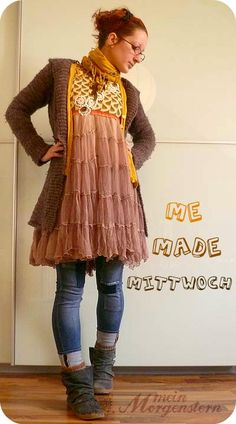 perfection in an upcycled dress