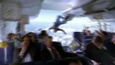 """""""Photo of Air France Plane Crash/Mid-Air Collision"""" - Although extremely frightening, this image is actually a video capture from the pilot episode of the ABC television series """"Lost""""."""