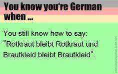 """Eigentlich doch """"Blaukraut bleibt Blaukraut und Brautkleid bleibt Brautkleid."""""""