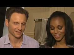 Olivia Pope and Fitzgerald Grant Are Trading Places  Watch Scandal stars Kerry Washington and Tony Goldwyn switch roles. Entertainment Weekly Exclusive Video.    Olivia Pope and Fitzgerald - EW Scandal Cover BTS- The Rose Garden Scene Role Reversal