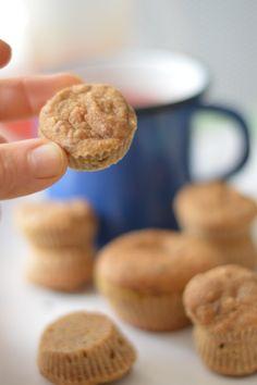 Mini muffins sans sucre vegan