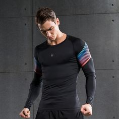 Enthusiastic Skins Dnamic Compression Long Sleeve Top Herren Funktionsshirt Sportshirt Selected Material Sporting Goods Shirts