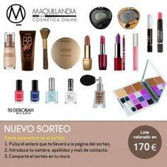 maquillandia.com vuelve con un nuevo sorteo de valorado en 170€ ^_^ http://www.pintalabios.info/es/sorteos_de_moda/view/es/4012 #ESP #Sorteo #Maquillaje