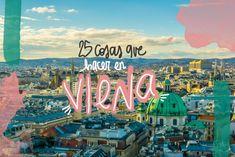 ¿Qué ver y hacer en Viena? Si has decidido visitar la capital de Austria en un viaje de turismo, te recomendamos estas 25 cosas que ver y hacer en Viena, los imprescindibles para que no te de tiempo a aburrirte en tu visita Budapest, Travel Guides, Travel Tips, Travel Magazines, Next Holiday, Eurotrip, Travel Agency, Vienna, The Good Place