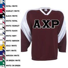 16fdc50b2 Fraternity Slap Shot Hockey Jersey  Greek  Fraternity  Clothing  Hockey   Jersey