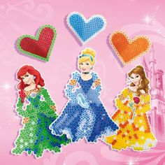 SES Disney Princess iron beads set