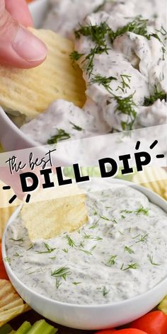 This easy Dill Dip recipe is going to become a family favorite! Easy to make and easier to eat!