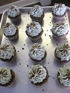 Variety of Girl Scout Cookies Cupcakes