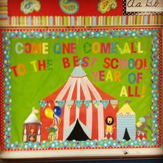 Image result for carnival and circus bulletin boards