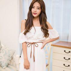 fashion hand-knit long leather designer braid waist belt with tassel party belts & cummerbunds for women girls string waistband