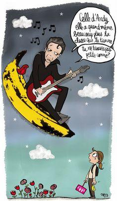 CDH: C'est pour qui la banane ? >> Illustration pour mon blog perso Crayon d'Humeur www.crayondhumeur.com
