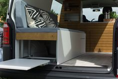 Vw t4 t5 t6 wohnmobil camper campingbus ausbau schrank for Funktionsbett 120x200