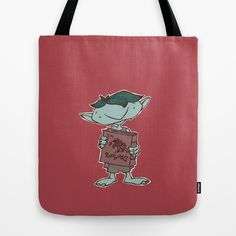 Future Hero Tote Bag by Marmota Minima - $22.00