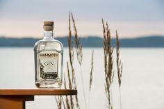 Mammoth Old Dam Gin at Torch Lake, MI